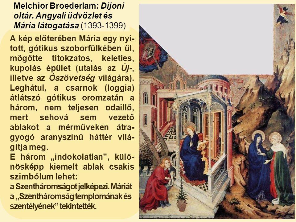 Melchior Broederlam: Dijoni oltár
