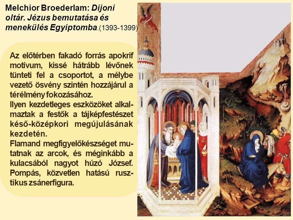 Melchior Broederlam: Dijoni