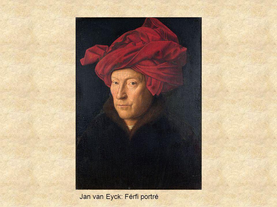 Jan van Eyck: Férfi portré