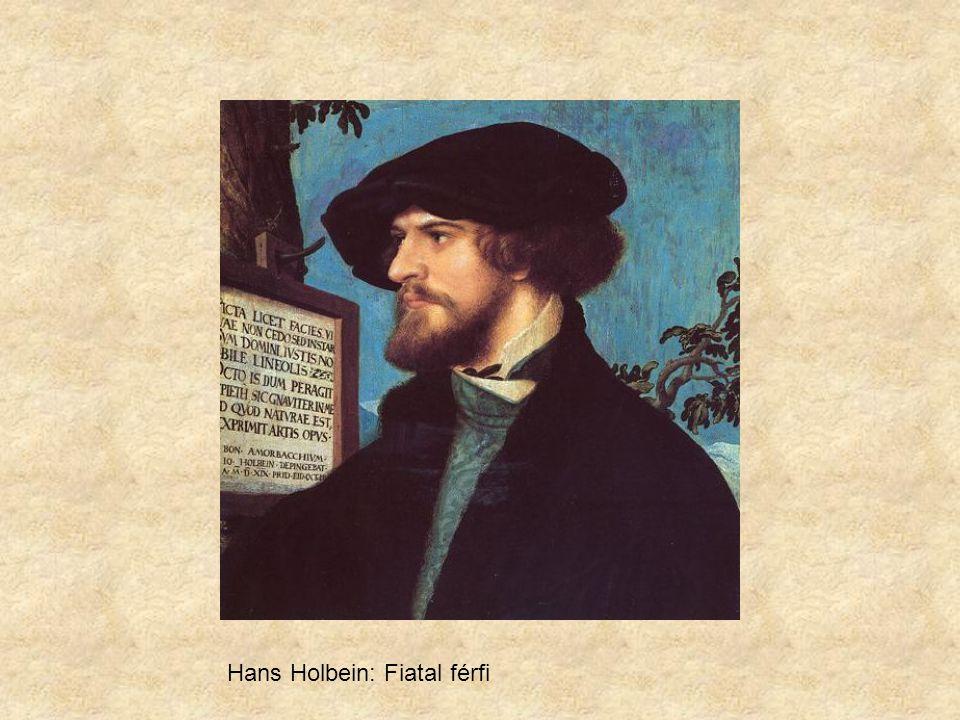Hans Holbein: Fiatal férfi