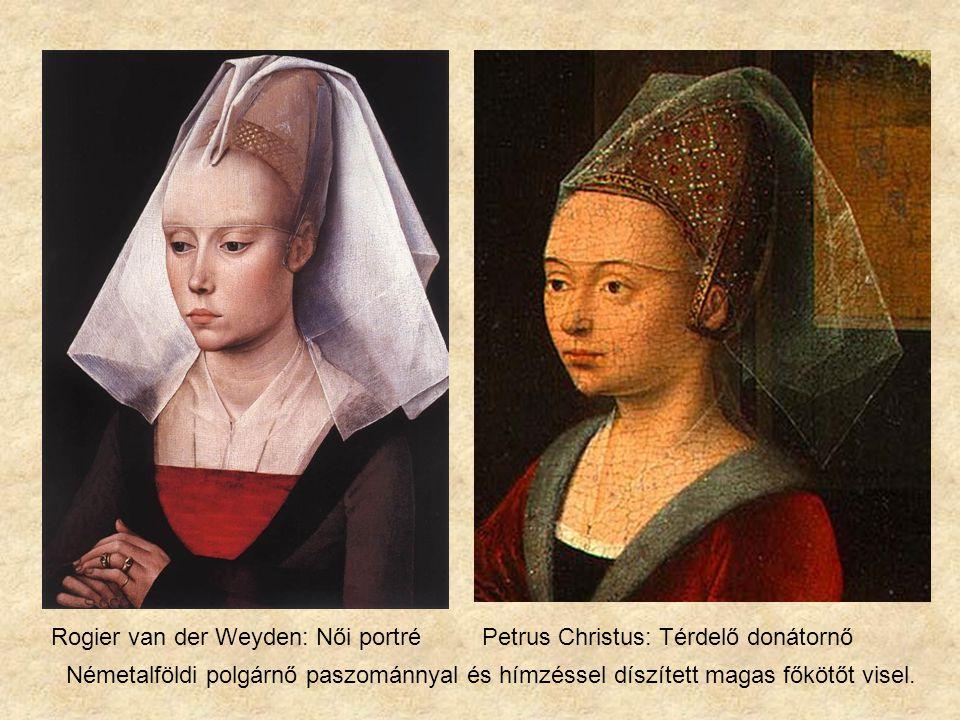 Rogier van der Weyden: Női portré