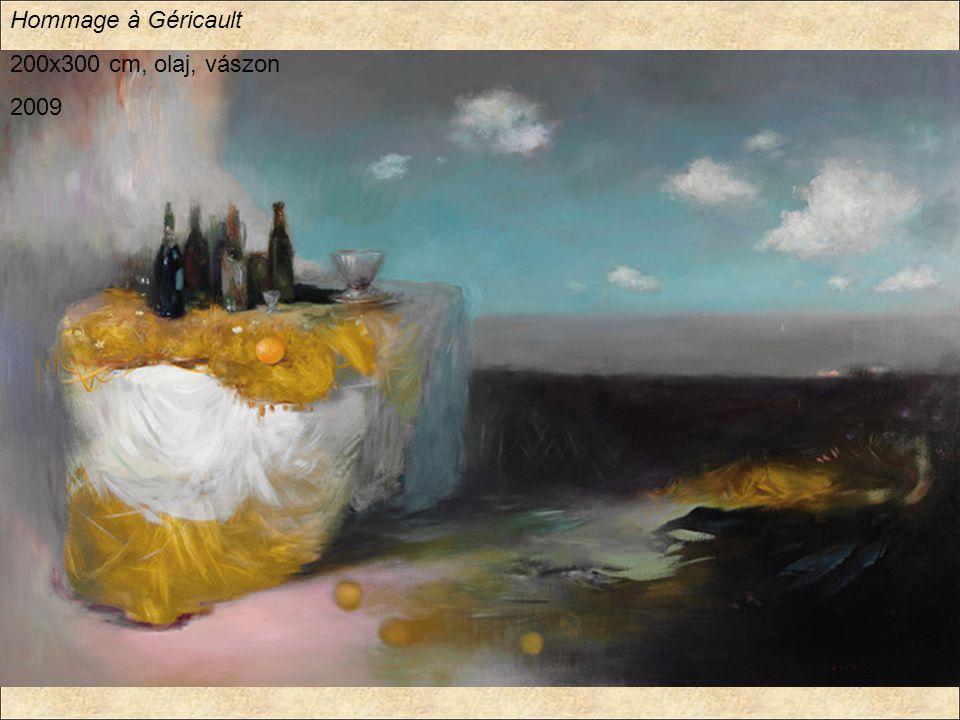 Hommage à Géricault 200x300 cm, olaj, vászon 2009