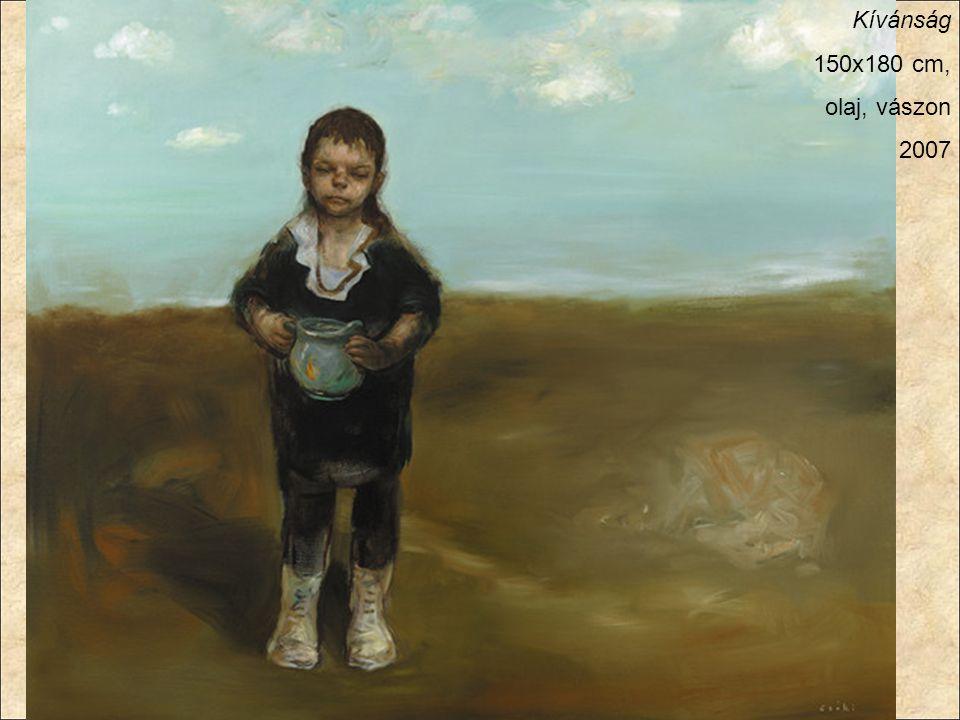 Kívánság 150x180 cm, olaj, vászon 2007