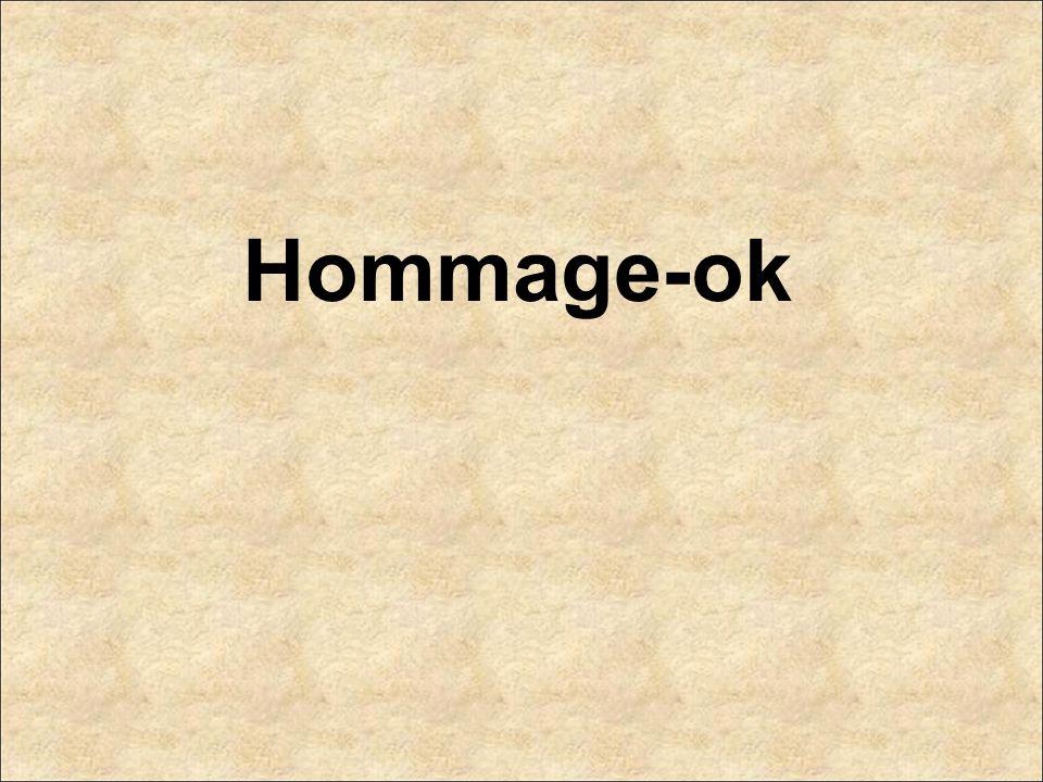 Hommage-ok