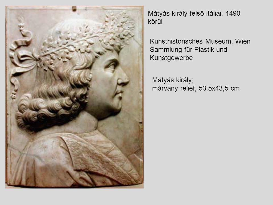 Mátyás király felső-itáliai, 1490 körül