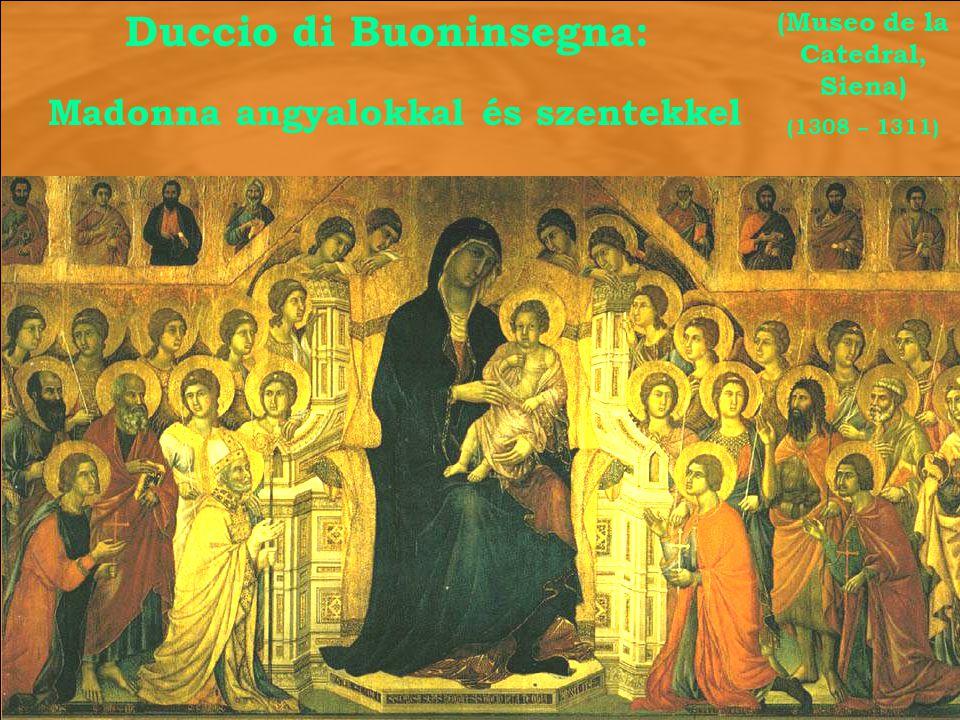 Duccio di Buoninsegna: (Museo de la Catedral, Siena)