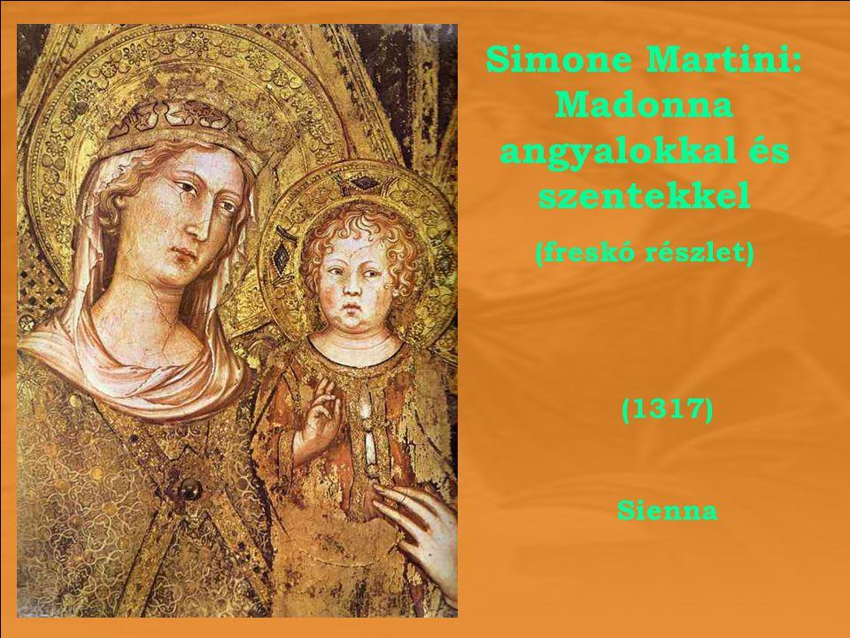 Simone Martini: Madonna angyalokkal és szentekkel