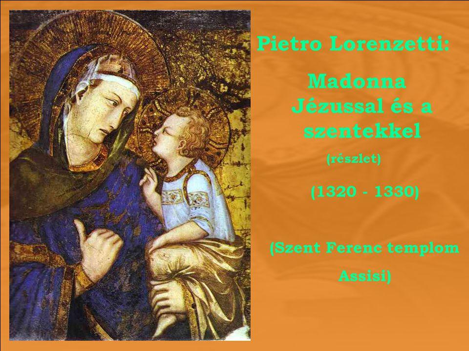 Madonna Jézussal és a szentekkel