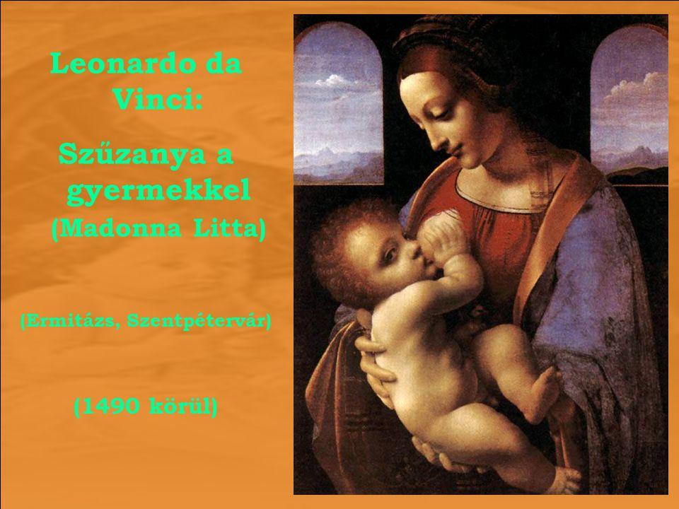 Szűzanya a gyermekkel (Madonna Litta) (Ermitázs, Szentpétervár)