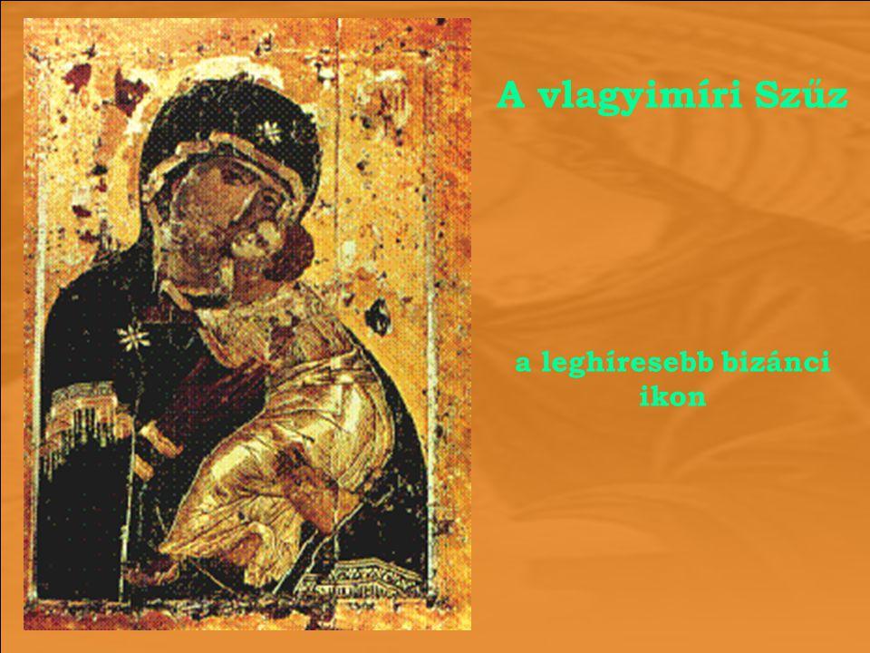 a leghíresebb bizánci ikon