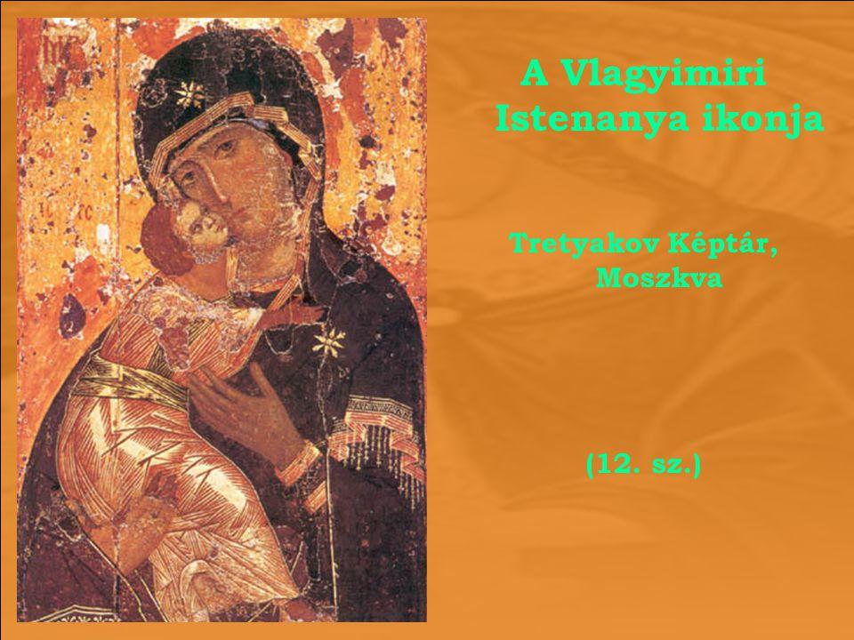 A Vlagyimiri Istenanya ikonja Tretyakov Képtár, Moszkva