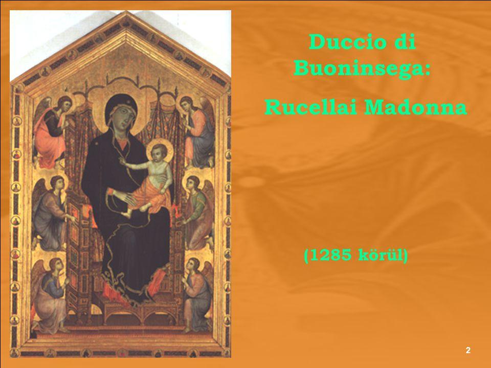 Duccio di Buoninsega: Rucellai Madonna