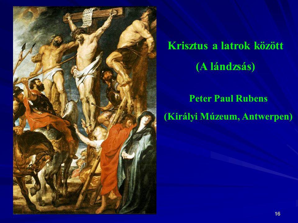 Krisztus a latrok között (Királyi Múzeum, Antwerpen)