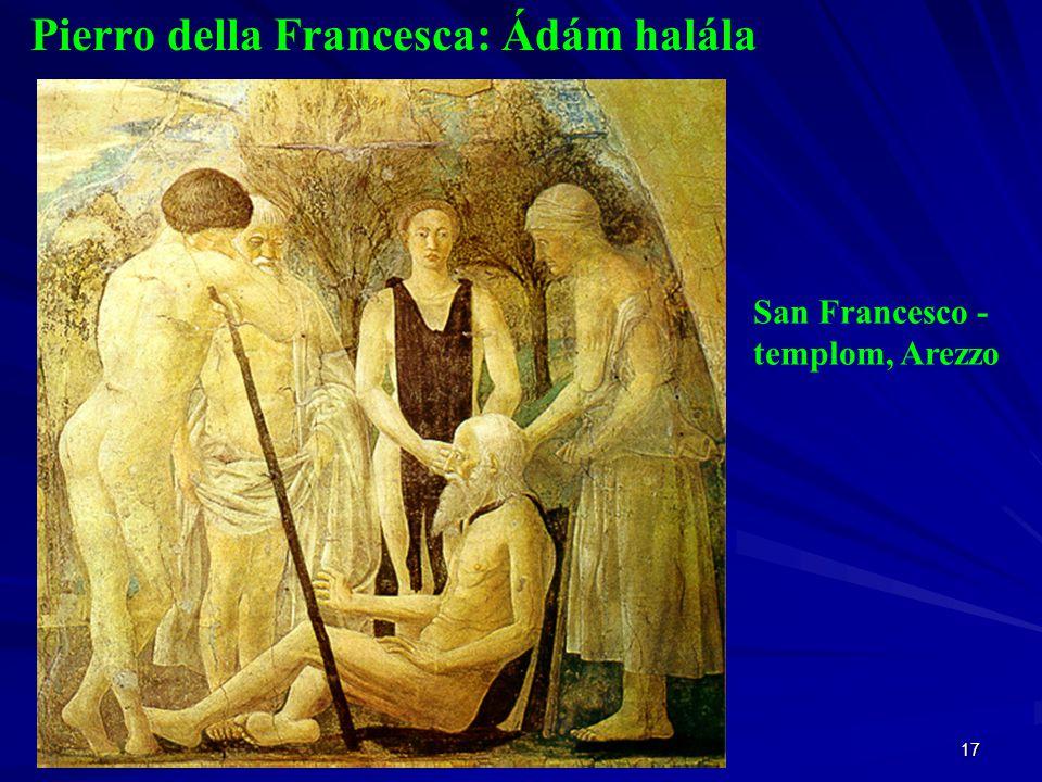 Pierro della Francesca: Ádám halála
