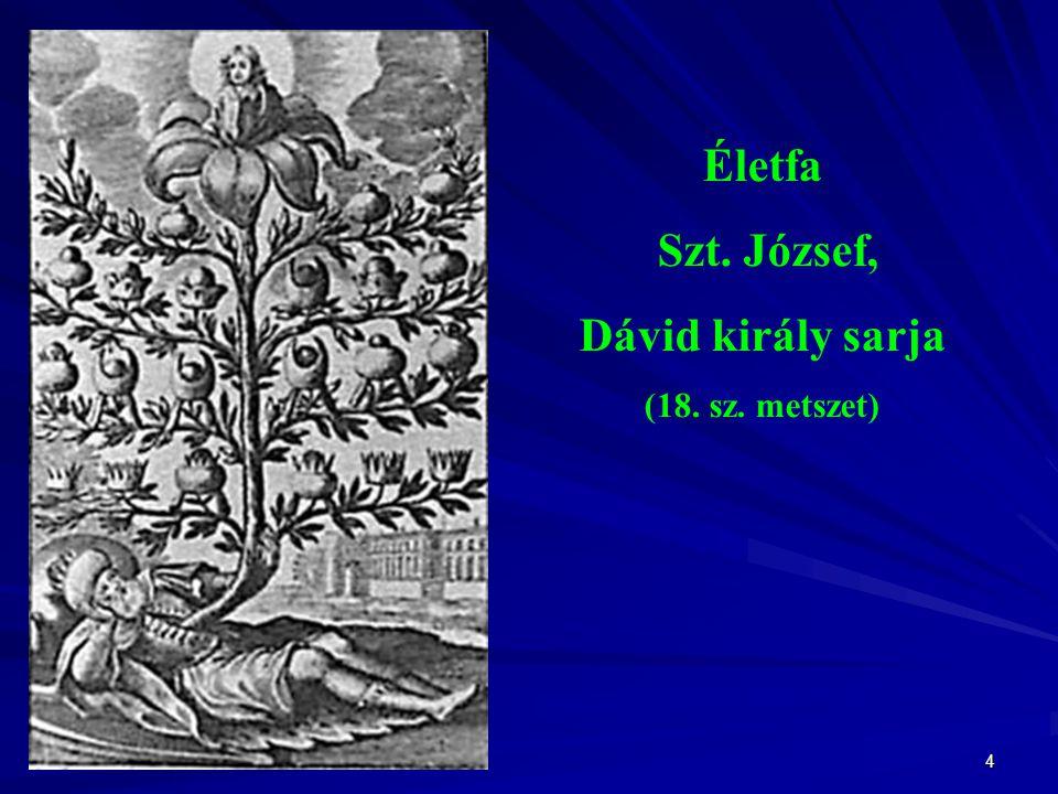 Életfa Szt. József, Dávid király sarja
