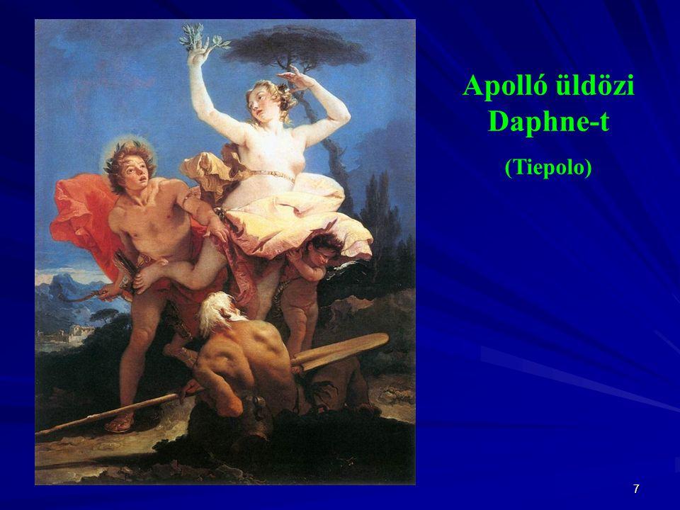Apolló üldözi Daphne-t