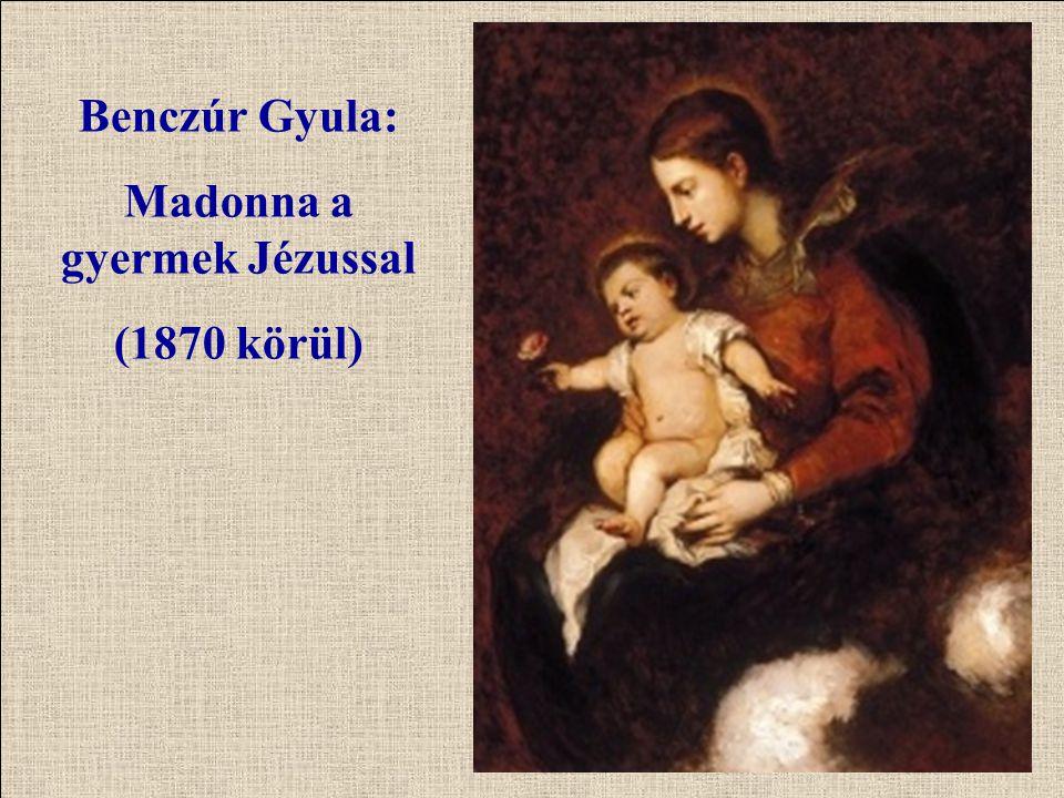 Madonna a gyermek Jézussal