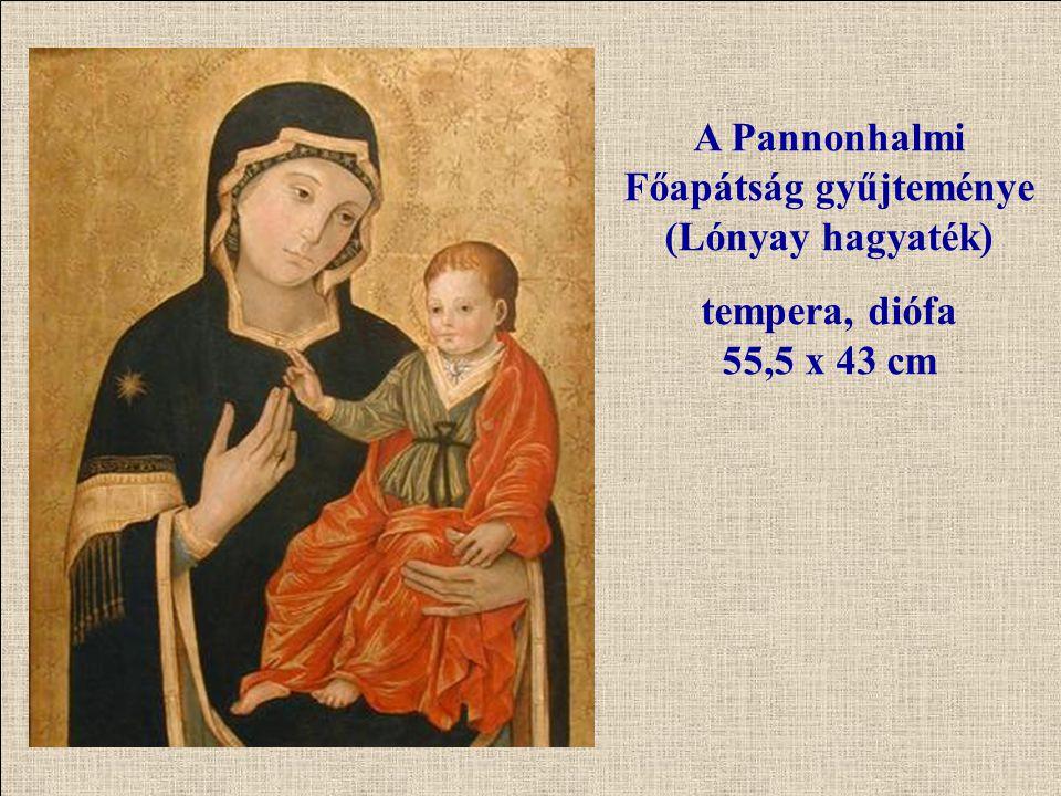 A Pannonhalmi Főapátság gyűjteménye (Lónyay hagyaték)
