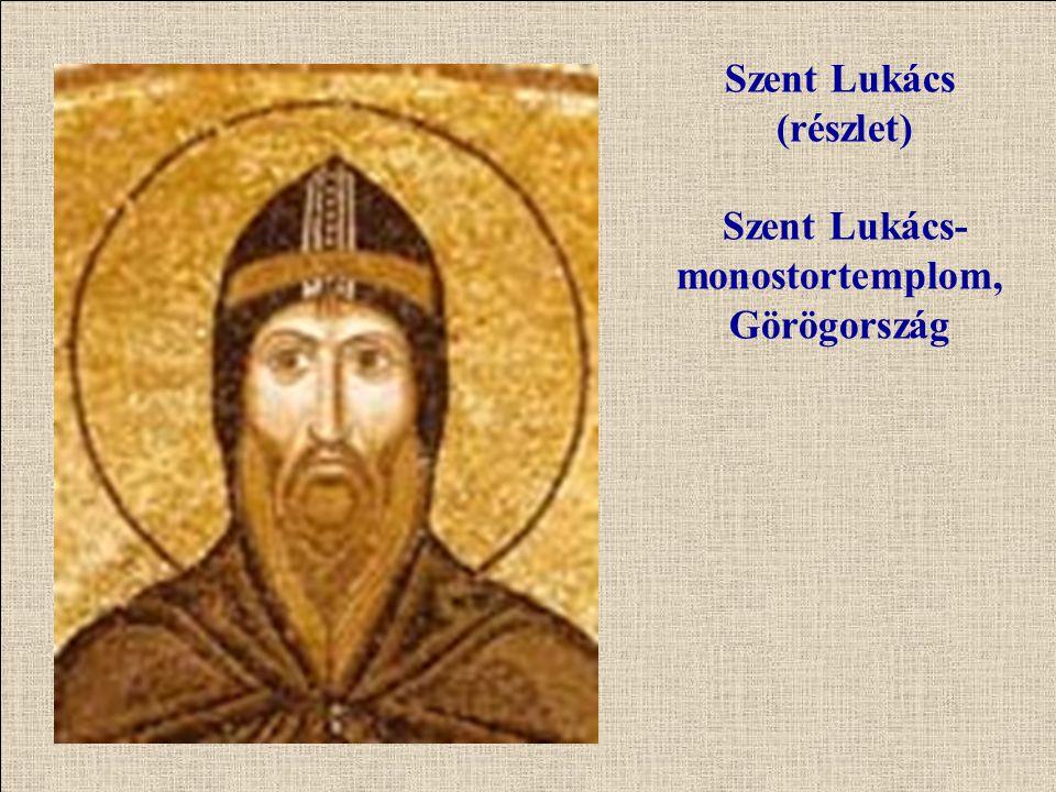Szent Lukács (részlet) Szent Lukács-monostortemplom, Görögország