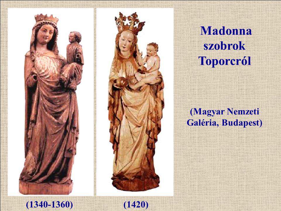 Madonna szobrok Toporcról (Magyar Nemzeti Galéria, Budapest)