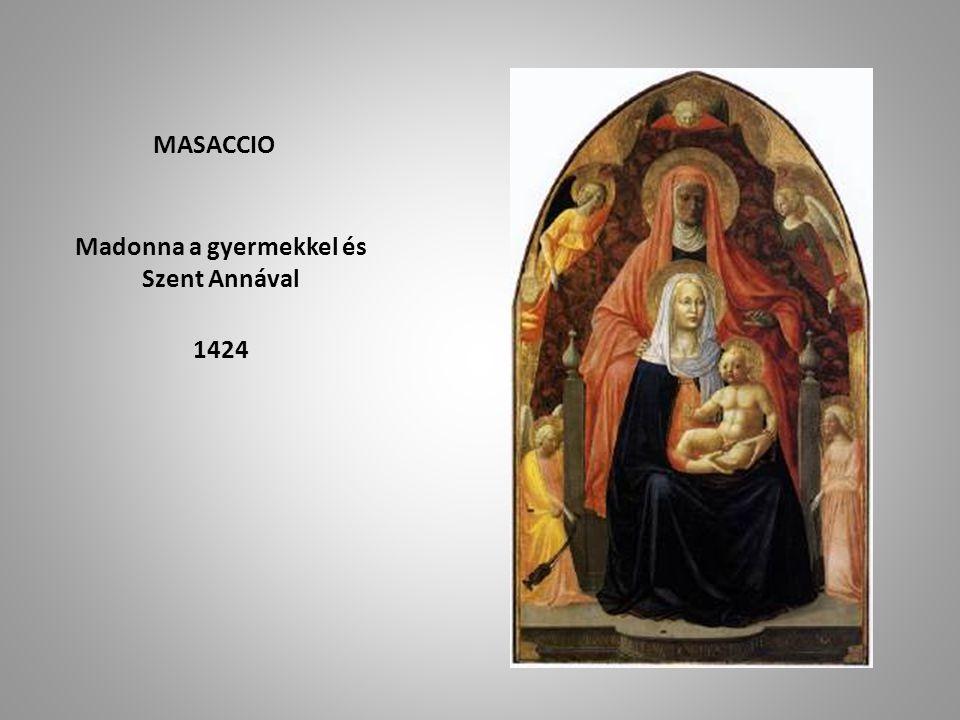 Madonna a gyermekkel és Szent Annával