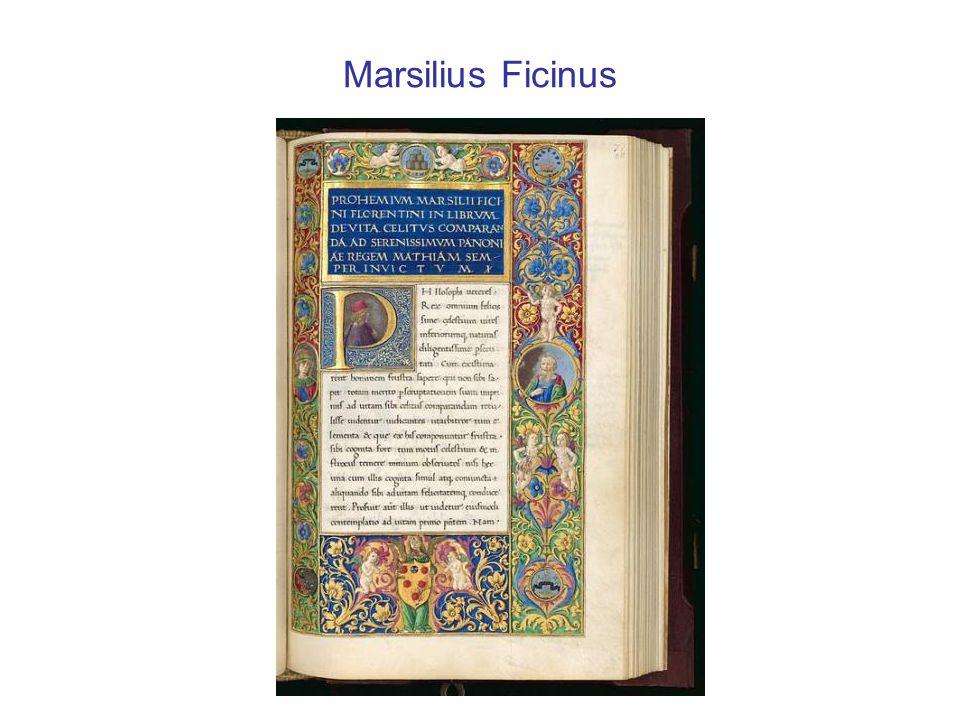 Marsilius Ficinus
