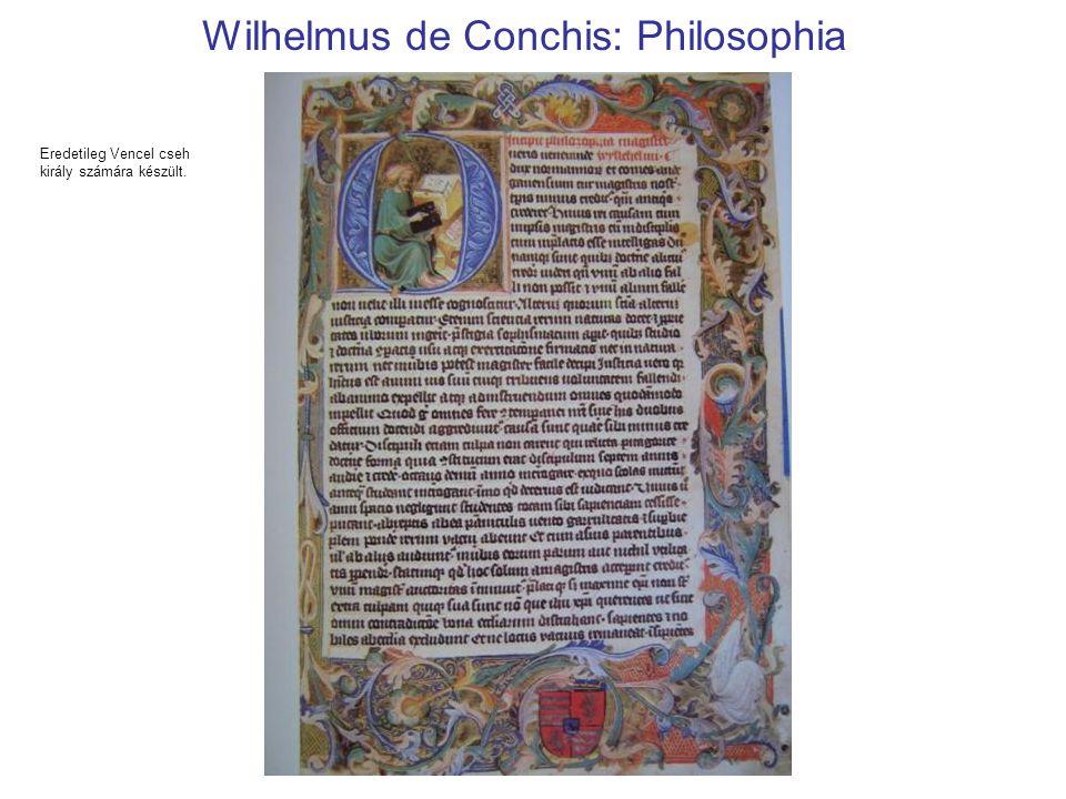Wilhelmus de Conchis: Philosophia