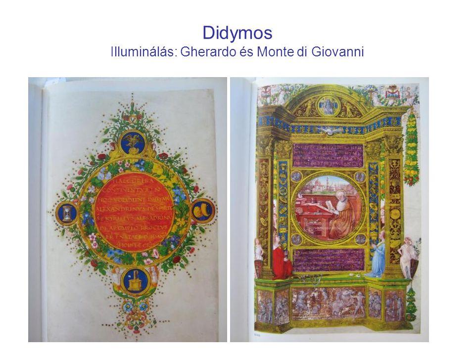 Didymos Illuminálás: Gherardo és Monte di Giovanni