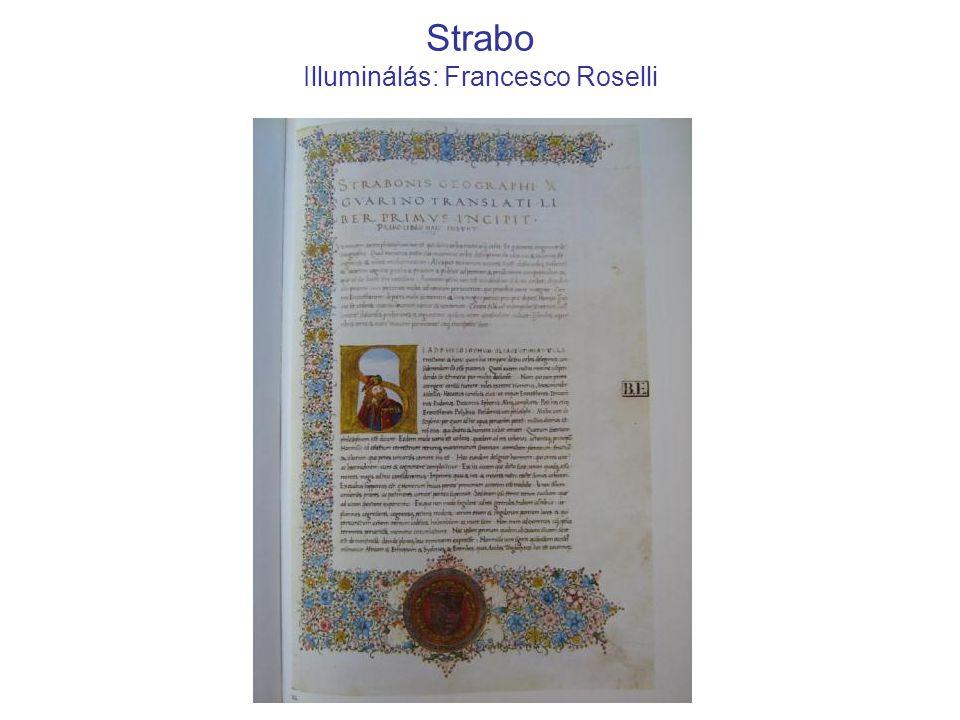 Strabo Illuminálás: Francesco Roselli
