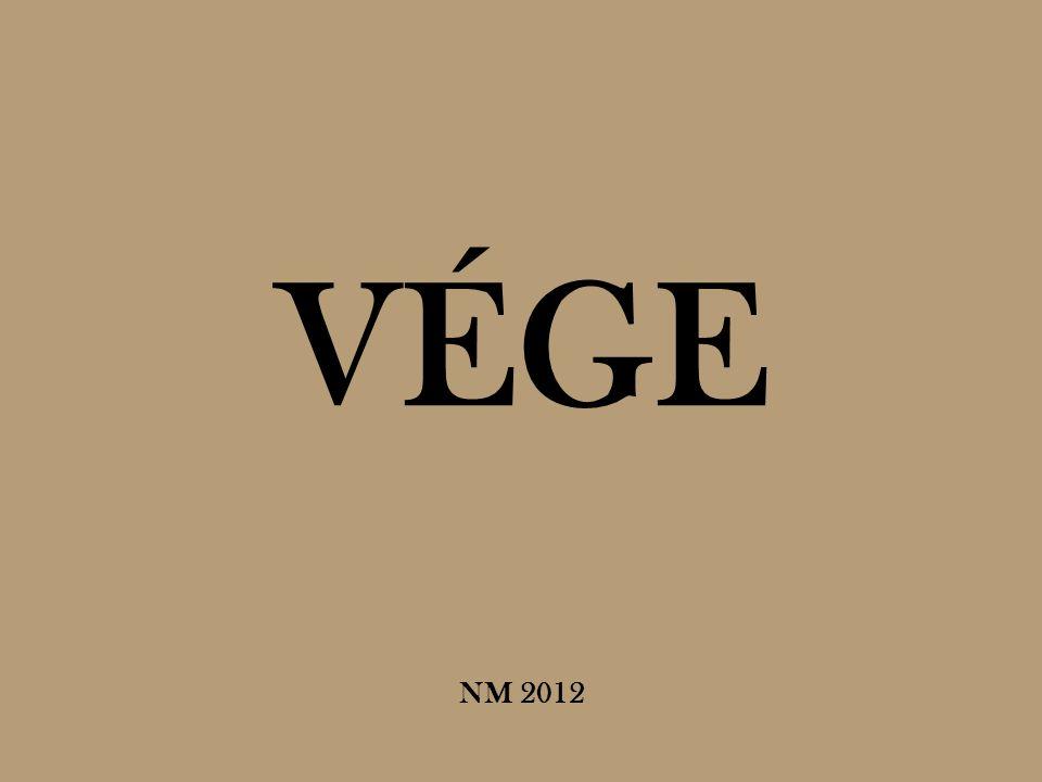 VÉGE NM 2012
