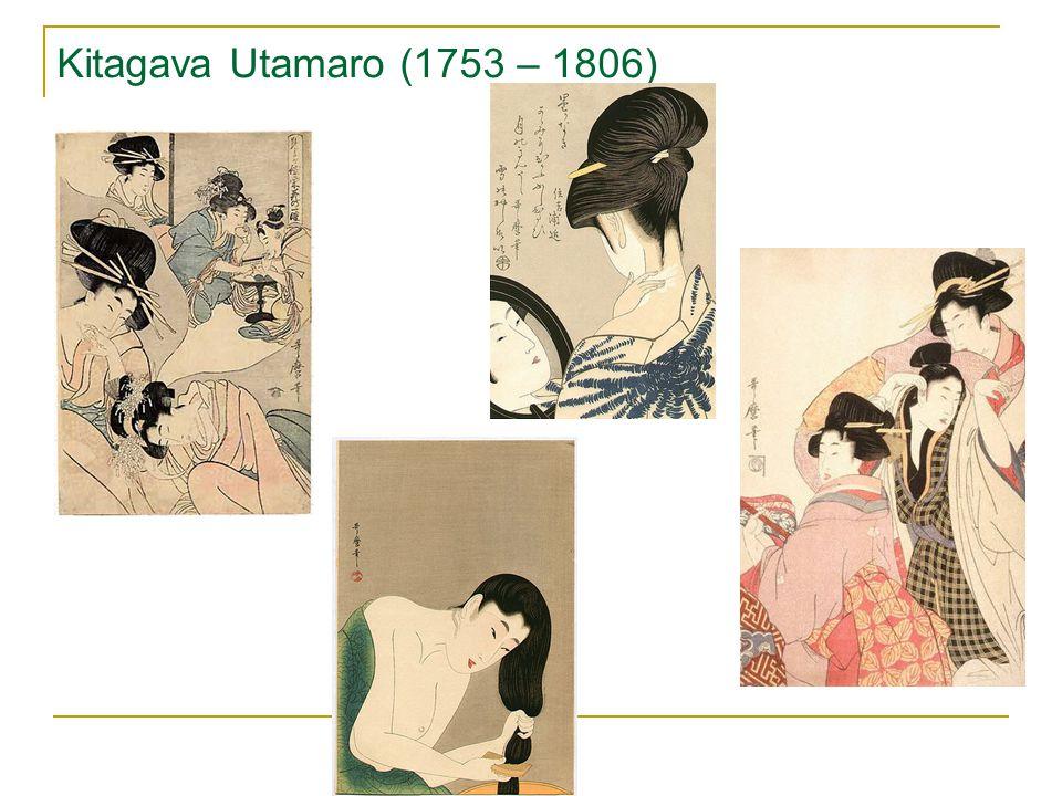 Kitagava Utamaro (1753 – 1806)