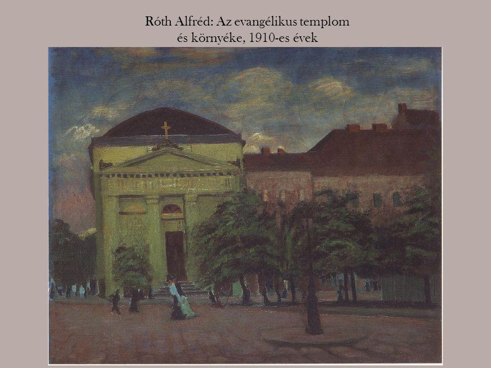 Róth Alfréd: Az evangélikus templom