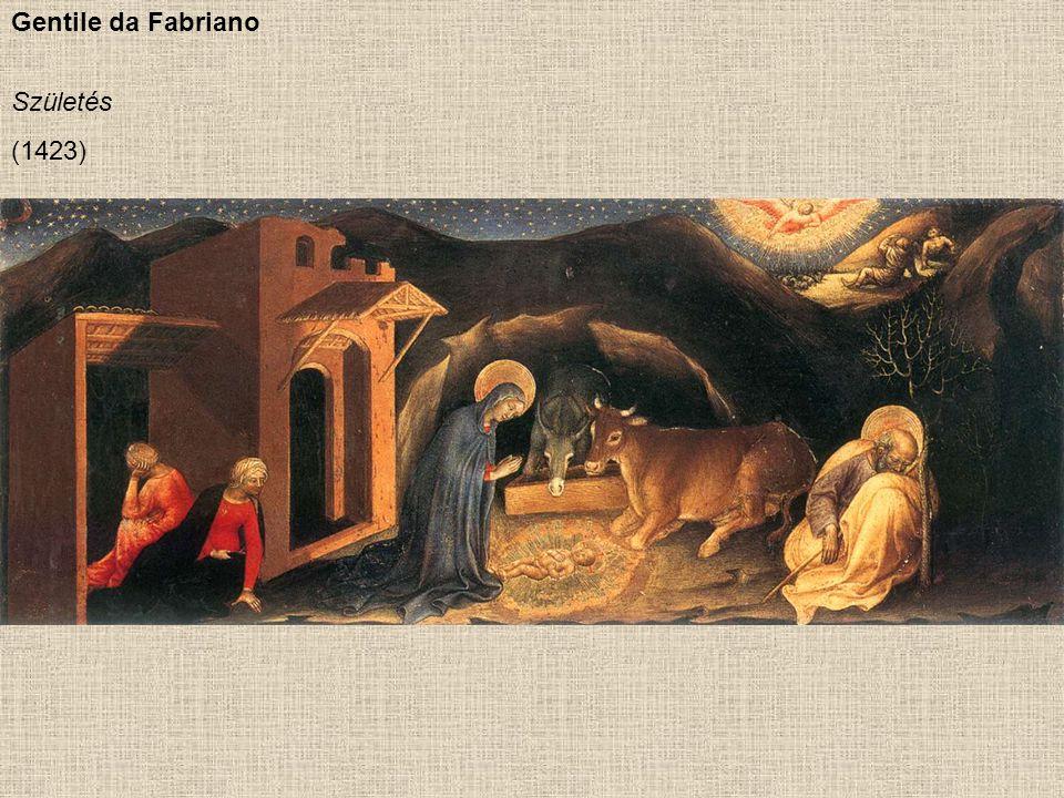 Gentile da Fabriano Születés (1423)