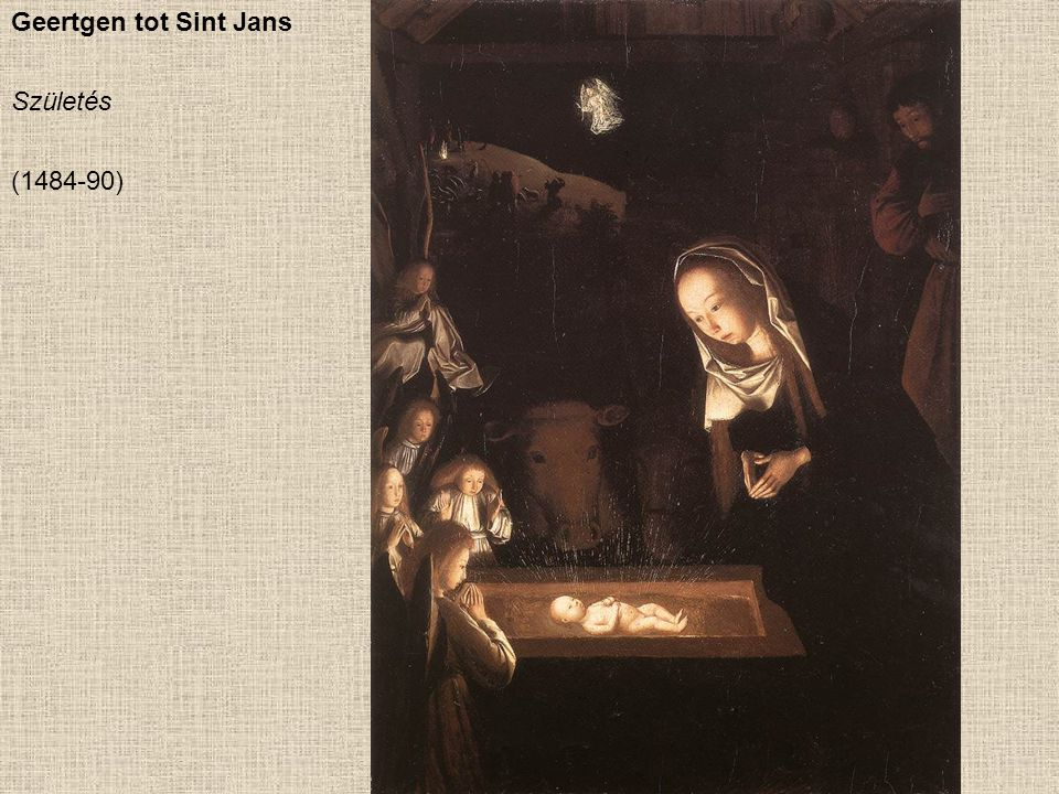 Geertgen tot Sint Jans Születés (1484-90)
