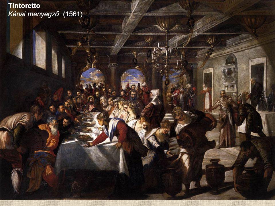Tintoretto Kánai menyegző (1561)