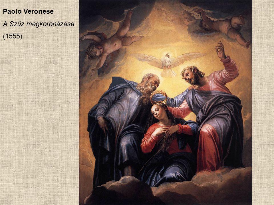 Paolo Veronese A Szűz megkoronázása (1555)