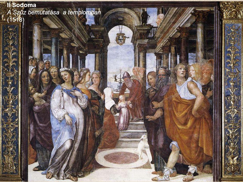Il Sodoma A Szűz bemutatása a templomban (1518)
