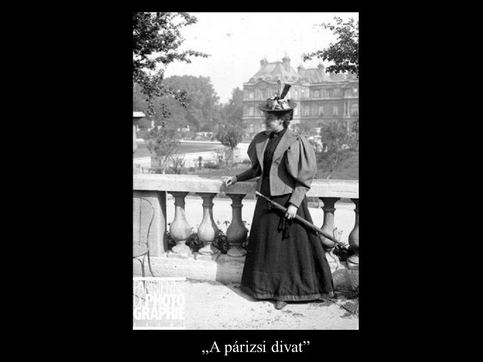 """""""A párizsi divat"""