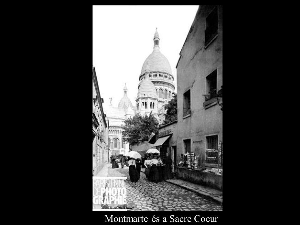 A Montmarte és a Sacre Coeur