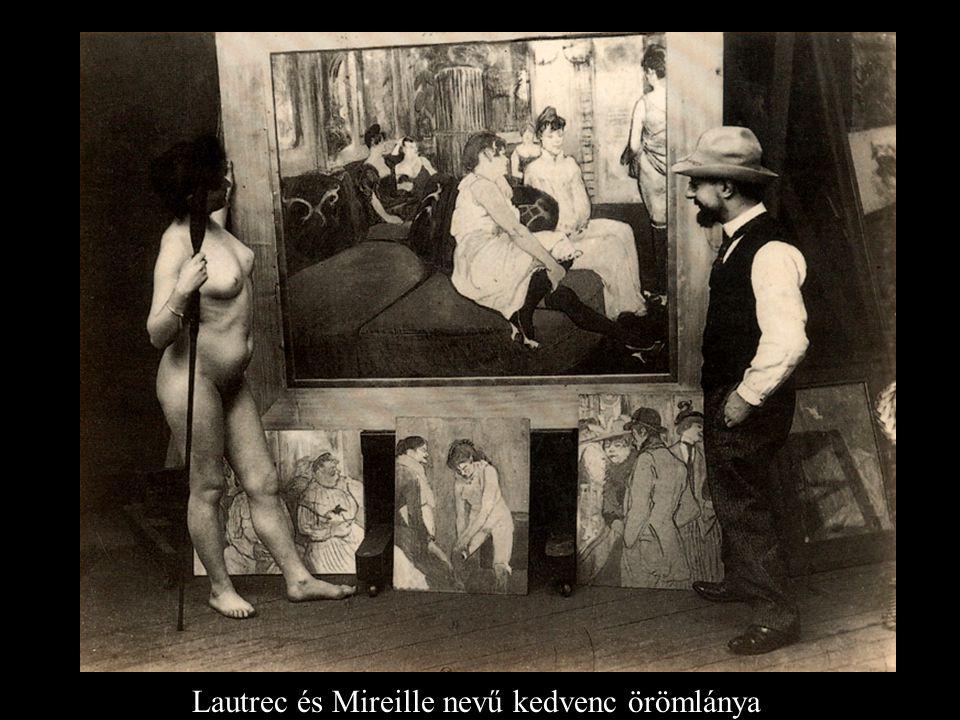 Lautrec és Mireille nevű kedvenc örömlánya