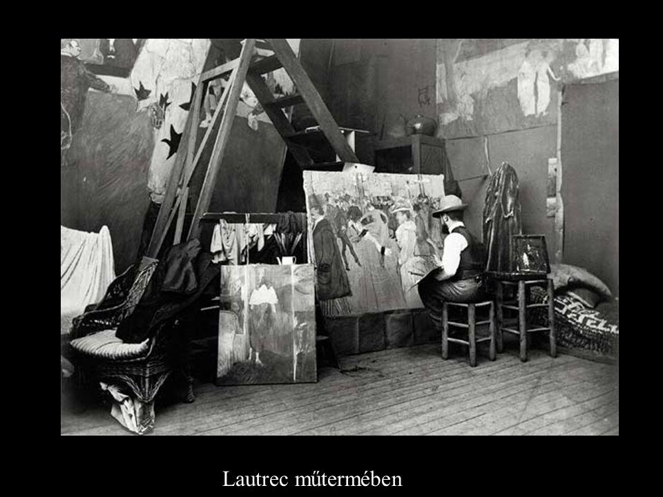 Lautrec műtermében