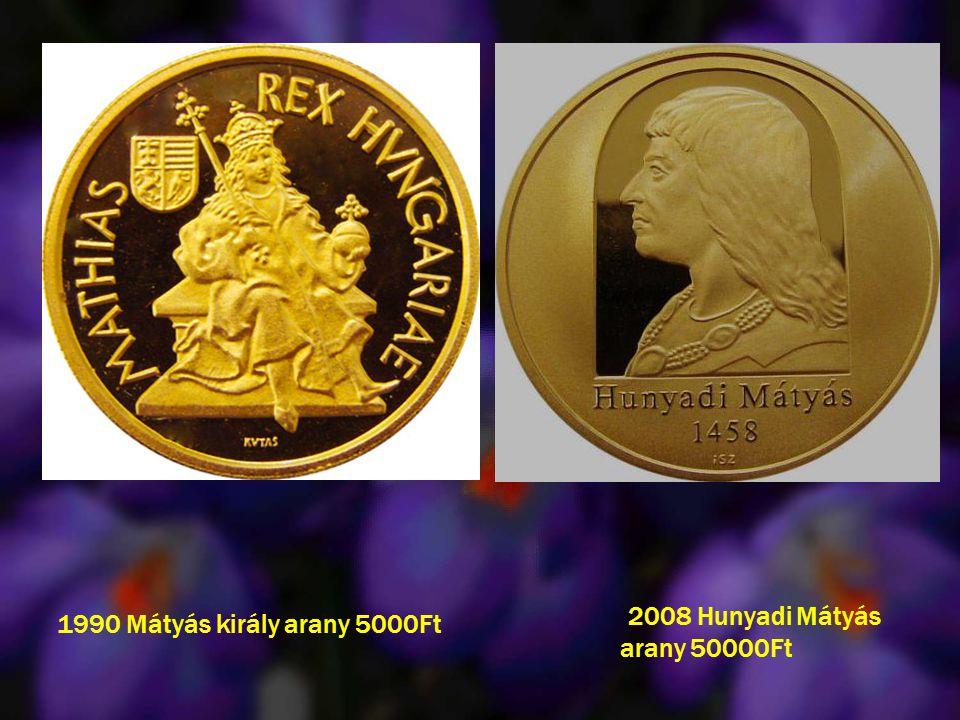2008 Hunyadi Mátyás arany 50000Ft