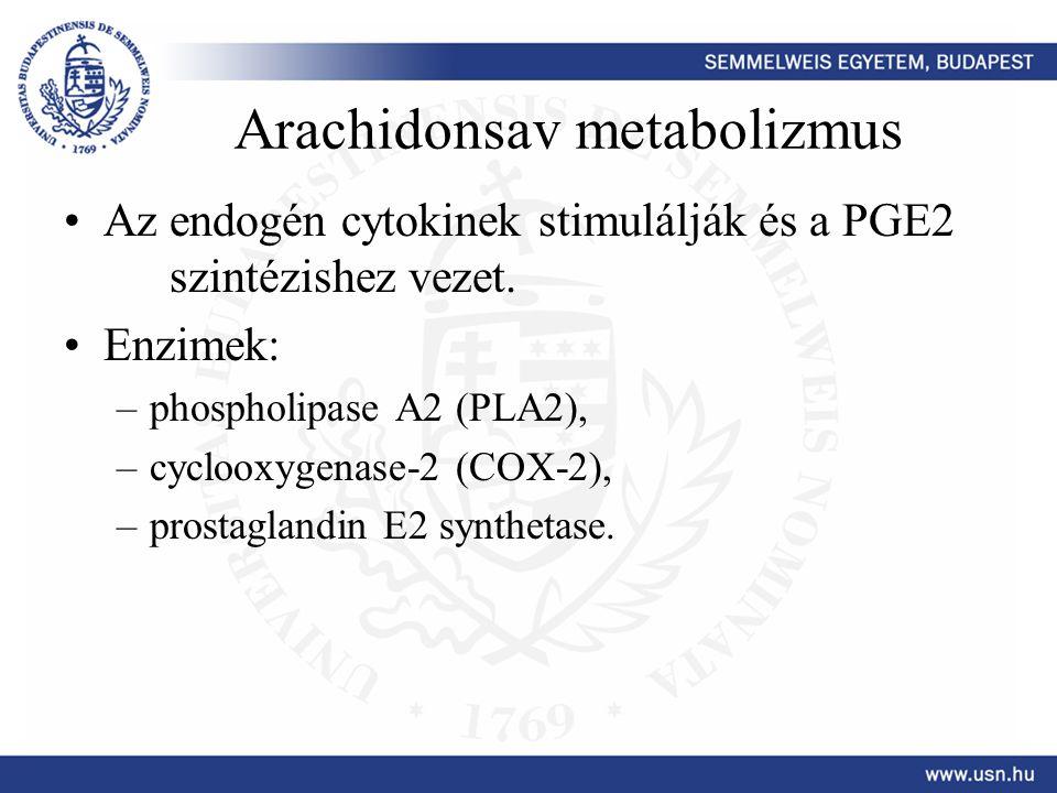 Arachidonsav metabolizmus