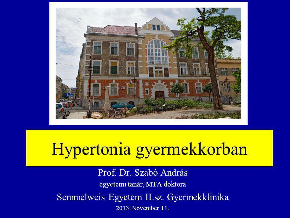 Hypertonia gyermekkorban