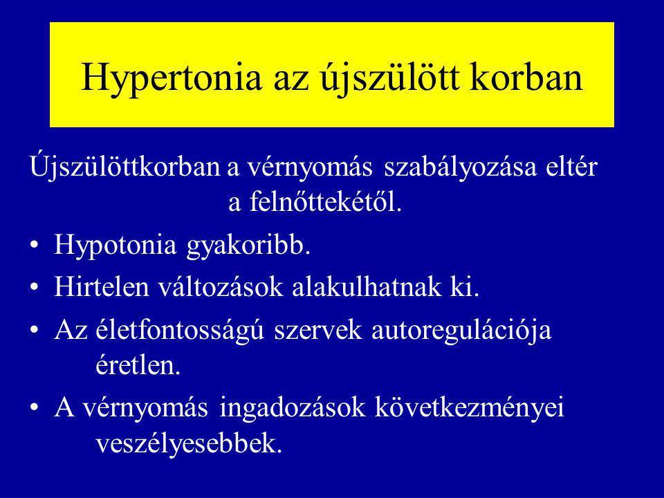 Hypertonia az újszülött korban