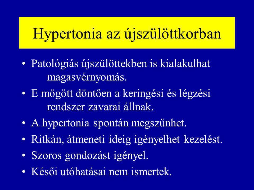 Hypertonia az újszülöttkorban