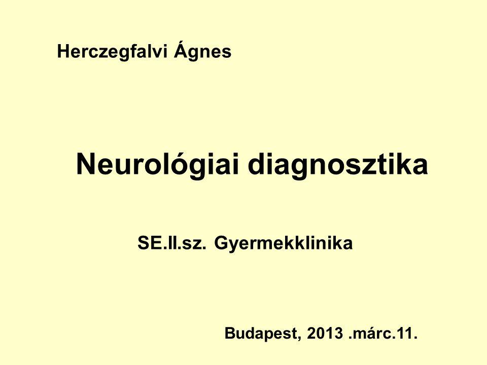 Neurológiai diagnosztika