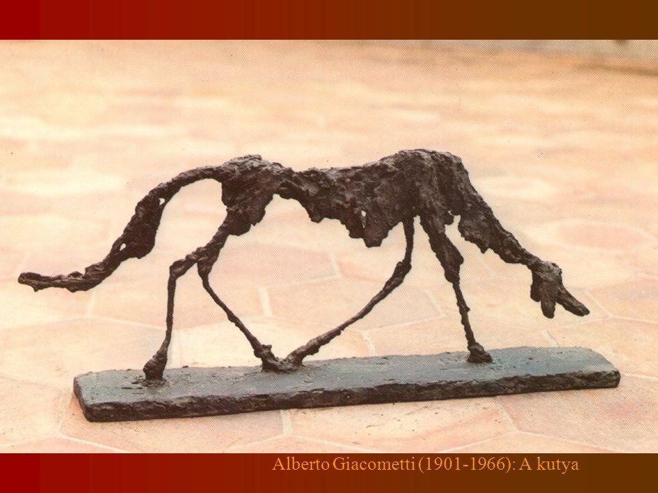 Alberto Giacometti (1901-1966): A kutya