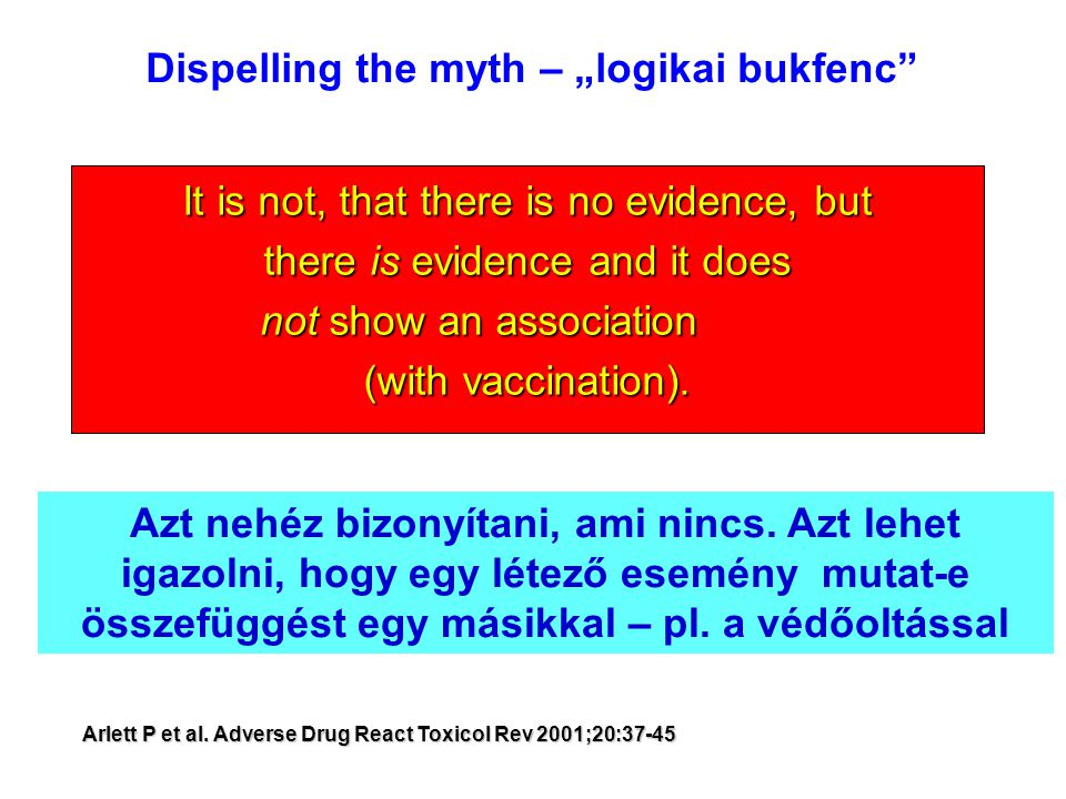 "Dispelling the myth – ""logikai bukfenc"