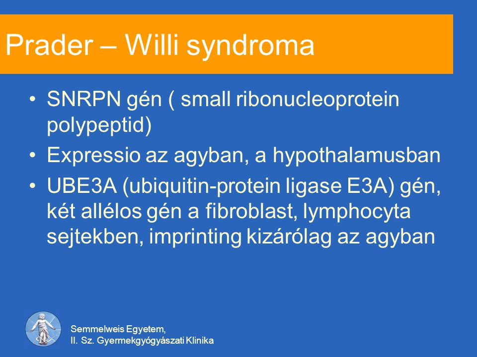 Prader – Willi syndroma